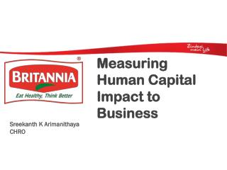 Measuring Human Capital Impact to Business