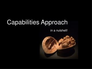 Capabilities Approach