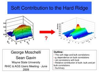 Soft Contribution to the Hard Ridge