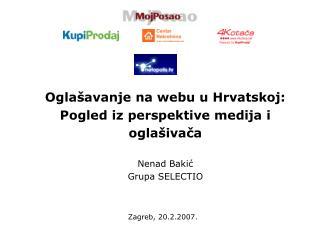 Zagreb, 20.2.2007.