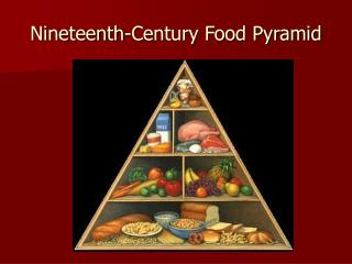Nineteenth-Century Food Pyramid