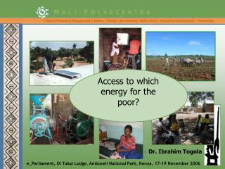 Access to which energy for the poor?