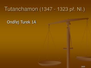 Tutanchamon  (1347 - 1323 př. Nl.)