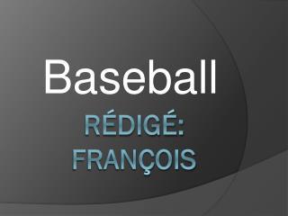 Rédigé: François