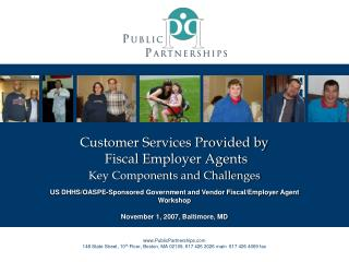 Customer Services Provided by  Fiscal Employer Agents Key Components and Challenges