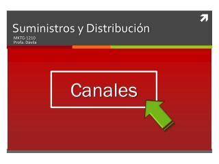 Suministros y Distribución