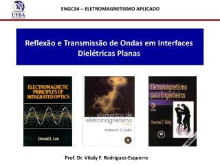 Reflexão e Transmissão de Ondas em Interfaces Dielétricas Planas