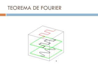 TEOREMA DE FOURIER