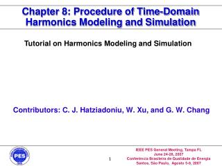 Chapter 8: Procedure of Time-Domain Harmonics Modeling and Simulation