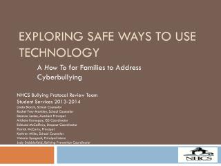 Exploring Safe Ways To Use Technology