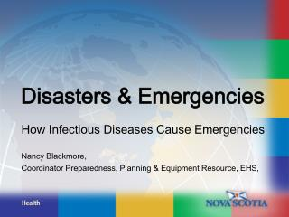 Disasters & Emergencies