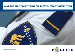 Workshop bejegening en informatievoorziening