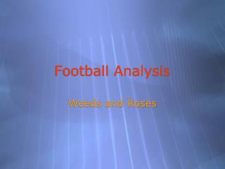 Football Analysis