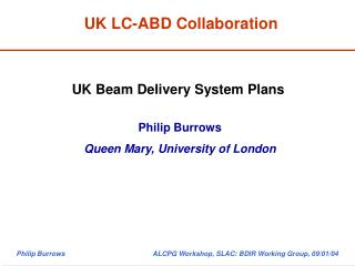 UK LC-ABD Collaboration