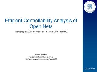 Efficient Controllability Analysis of Open Nets