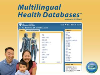 Multilingual Health Databases