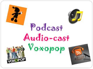 Podcast Audio- cast Voxopop