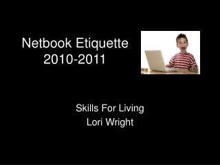 Skills For Living Lori Wright