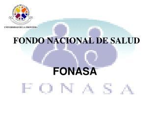 FONDO NACIONAL DE SALUD
