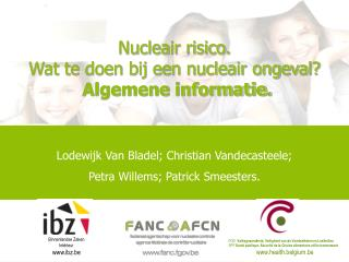 Nucleair risico.  Wat te doen bij een nucleair ongeval?  Algemene informatie.