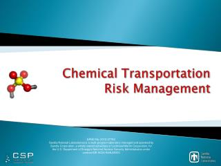Chemical Transportation Risk Management