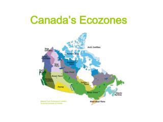 Canada's Ecozones