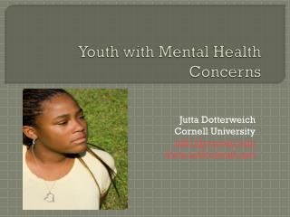 Youth with Mental Health Concerns