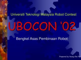 Bengkel Asas Pembinaan Robot