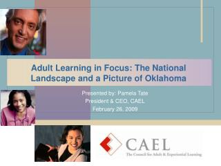 Adult Learning in Focus: The National Landscape and a Picture of Oklahoma