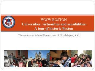 The American School Foundation of Guadalajara, A.C.