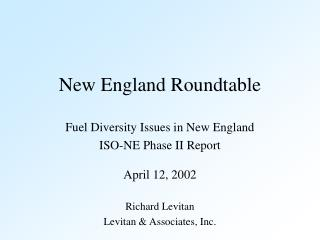 New England Roundtable