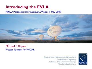 Introducing the EVLA