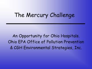 The Mercury Challenge