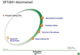 SFT2841 disconnected