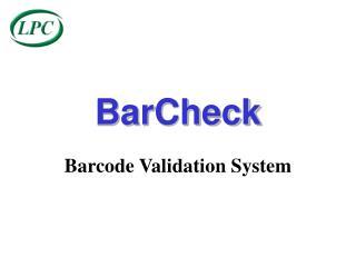 BarCheck