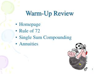 Warm-Up Review