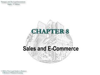 Sales and E-Commerce
