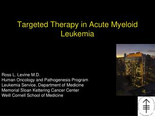Targeted Therapy in Acute Myeloid Leukemia