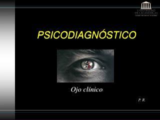 PSICODIAGN STICO