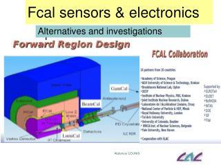 Fcal  sensors & electronics