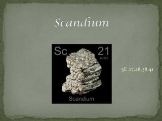Scandium