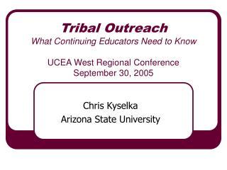 Chris Kyselka Arizona State University