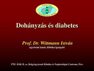 Dohányzás és diabetes