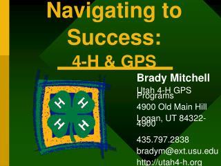 Navigating to Success: 4-H & GPS