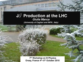 J/ ψ  Production at the LHC