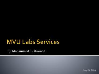 MVU Labs Services