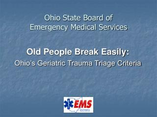 Ohio State Board of  Emergency Medical Services