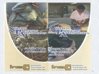 NÚCLEO  PROCESOS ARTESANALES Subsectores: Artesanías  Peluquería y Estética
