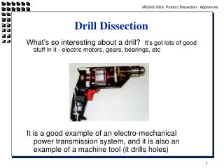 Drill Dissection