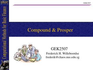 Compound & Prosper